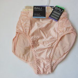 New 3 pack Bali Double Support Hi-Cut Panties